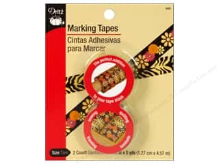 Dritz Tape Marking 1/2&quot;x 5yd 2pc