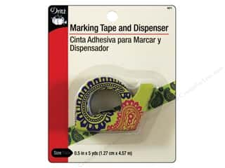 Marking Tape and Dispenser by Dritz 1/2 in. x 5 yd.