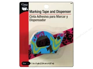 Templates Basic Components: Marking Tape and Dispenser by Dritz 1 in. x 5 yd.