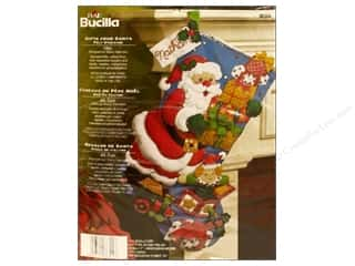 Holiday Sale Bucilla Christmas Felt Kits: Bucilla Felt Kits Gifts From Santa Stocking 18&quot;