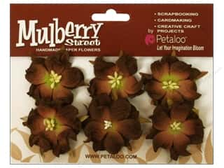 Petaloo Mulberry Wild Roses Dark Brown