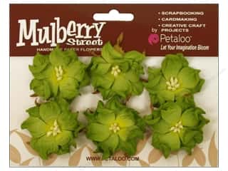Petaloo Mulberry Wild Roses Green