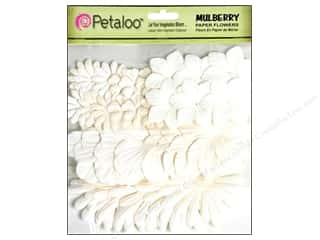 Petaloo Mulberry Value Pack Assorted Whites 36pc