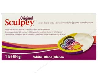 Clay & Modeling 1.75 lb: Sculpey Original Clay 1 lb. White