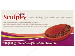 Sculpey Original Clay: Sculpey Original Clay 1lb Terra Cotta