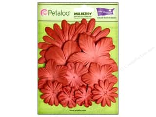 Petaloo Crdntns Color Match Cardinal Red 12pc