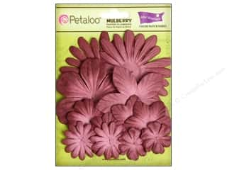 Petaloo Crdntns Color Match Burgundy 12pc