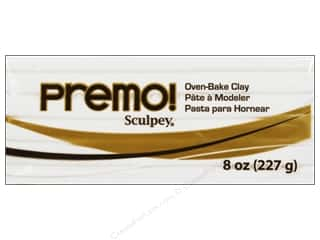 Clay Sculpey Original Clay: Premo! Sculpey Polymer Clay 8 oz. White