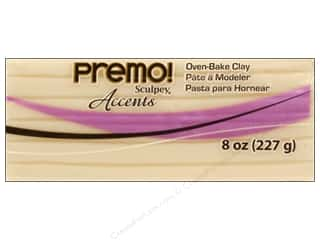 Premo Polymer Clay Polyform 8oz Accents Translucnt