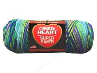Red Heart Super Saver Yarn #3955 Wildflower 5 oz.