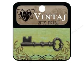 Vintaj Charm Key Skeleton Arte Metal