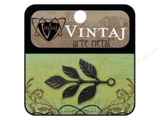 Vintaj Charm Tiered Leaves Arte Metal