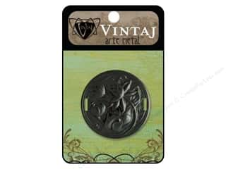 Vintaj Ribbon Slide Waterlily 38mm Arte Metal
