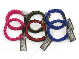 Pepperell Braiding Co: Pepperell Parachute Cord Girl's Bracelet Assorted