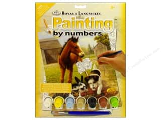 Farms Projects & Kits: Royal Paint By Number Junior Small Lunch with Friends