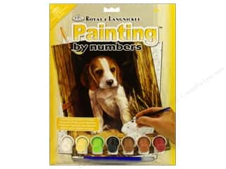 Royal Paint By Number Junior Small Beagle Puppy