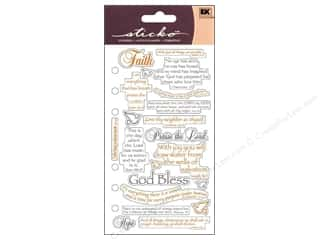 Religious Subjects Stickers: EK Sticko Stickers Scripture