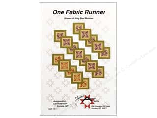 One Fabric Runner Pattern