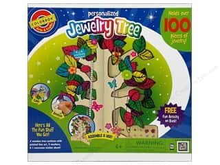 Colorbok Painting Kit: Colorbok Arts & Crafts Jewelry Tree