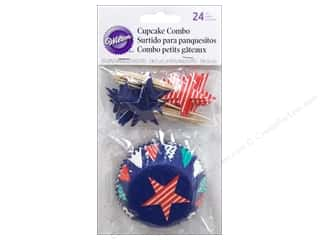 Wilton Cupcake Combo Pack Patriotic 24 pc.