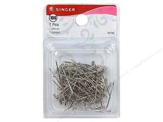 Singer Straight Pins T Pins 1in Size 16 100pc