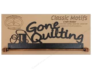 Ackfeld Craft Holders Fab 12&quot; Gone Quilting Slvr