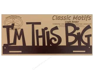 Ackfeld Craft Holders Frame 14&quot; I&#39;m This Big Copr