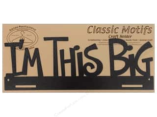 Ackfeld Craft Holders Frame 14&quot; I&#39;m This Big Slvr