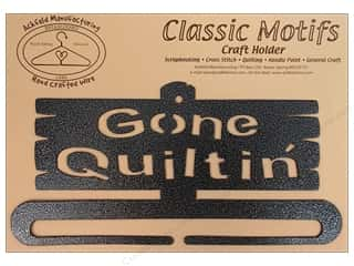 "Ackfeld Craft Holders Split Bottom 6"" Gone Quiltin Silver"