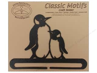 Ackfeld Craft Holders Split Bottom 7 1/2 in. Penguin Silver
