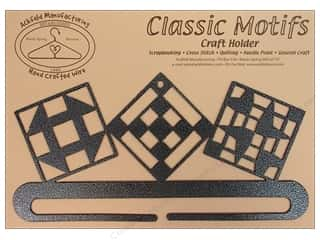 "Ackfeld Craft Holders Split Bottom 7.5"" Quilt Block Silver"