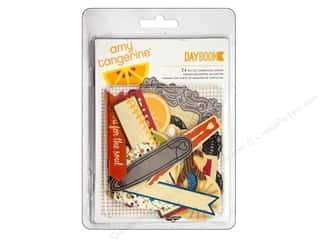 American Crafts Embellishment Amy Tangerine Daybook Cardstock Shapes