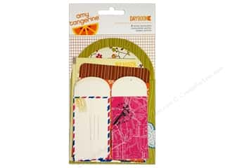 American Crafts Embellishment Amy Tangerine Daybook Mixed Envelopes