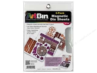 Magnets: ArtBin Magnetic Die Sheet Set 3 pc.