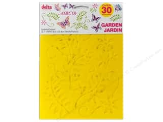 Spring Paper: Delta Stencil Mania Value Pack Garden 3 pc.