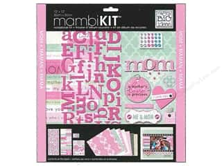 MAMBI Kit Scrapbook 12x12 Me & Mom