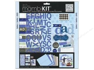 "Me&My Big Ideas Kit Scrapbook 12""x 12"" My Dad Family Man"