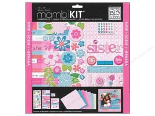 MAMBI Kit Scrapbook 12x12 Me & My Sis