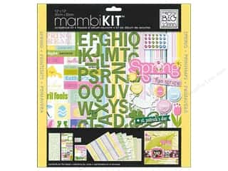 Clearance Blumenthal Favorite Findings: MAMBI Kit Scrapbook 12x12 Spring Holidays