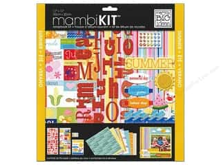 chipboard letters: MAMBI Kit Scrapbook 12x12 Summer Holidays