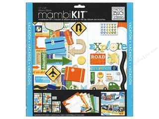 "Me&My Big Ideas Kit Scrapbook 12""x 12"" Explore Road Trip"