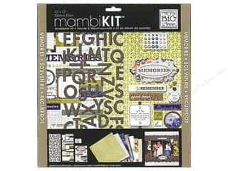 "Me&My Big Ideas Kit Scrapbook 12""x 12"" Cape Cod Memories"