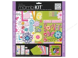 MAMBI Kit Scrapbook 12x12 B.F.F.Butterflies