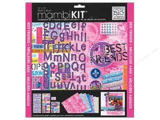 MAMBI Kit Scrapbook 12x12 Best Friends Peace