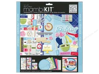 "Brads Scrapbooking Kits / Page Kits: Me&My Big Ideas Kit Scrapbook 12""x 12"" Baking"