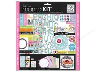 Paper Mache Everything You Love Sale: Me & My Big Ideas 12 x 12 in. Scrapbook Kit Friends Forever