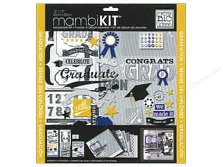 Dads & Grads Stickers: MAMBI Kit Scrapbook 12x12 Congrats Grad