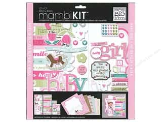 "Chipboard MAMBI Kit Scrapbook: Me&My Big Ideas Kit Scrapbook 12""x 12"" Sweet Girl"