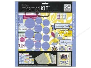 "Me&My Big Ideas Kit Scrapbook 12""x 12"" Family Tree"