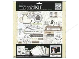 Sale MAMBI Kit Scrapbook: Me & My Big Ideas 12 x 12 in. Scrapbook Kit  Marry Me